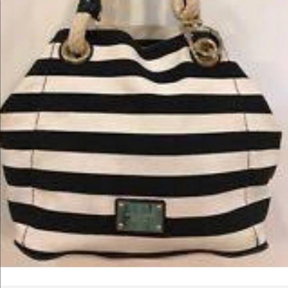 3be74ac09767 KORS Michael Kors Handbags - Michael Kors Marina Anchor Rope tote pre owned